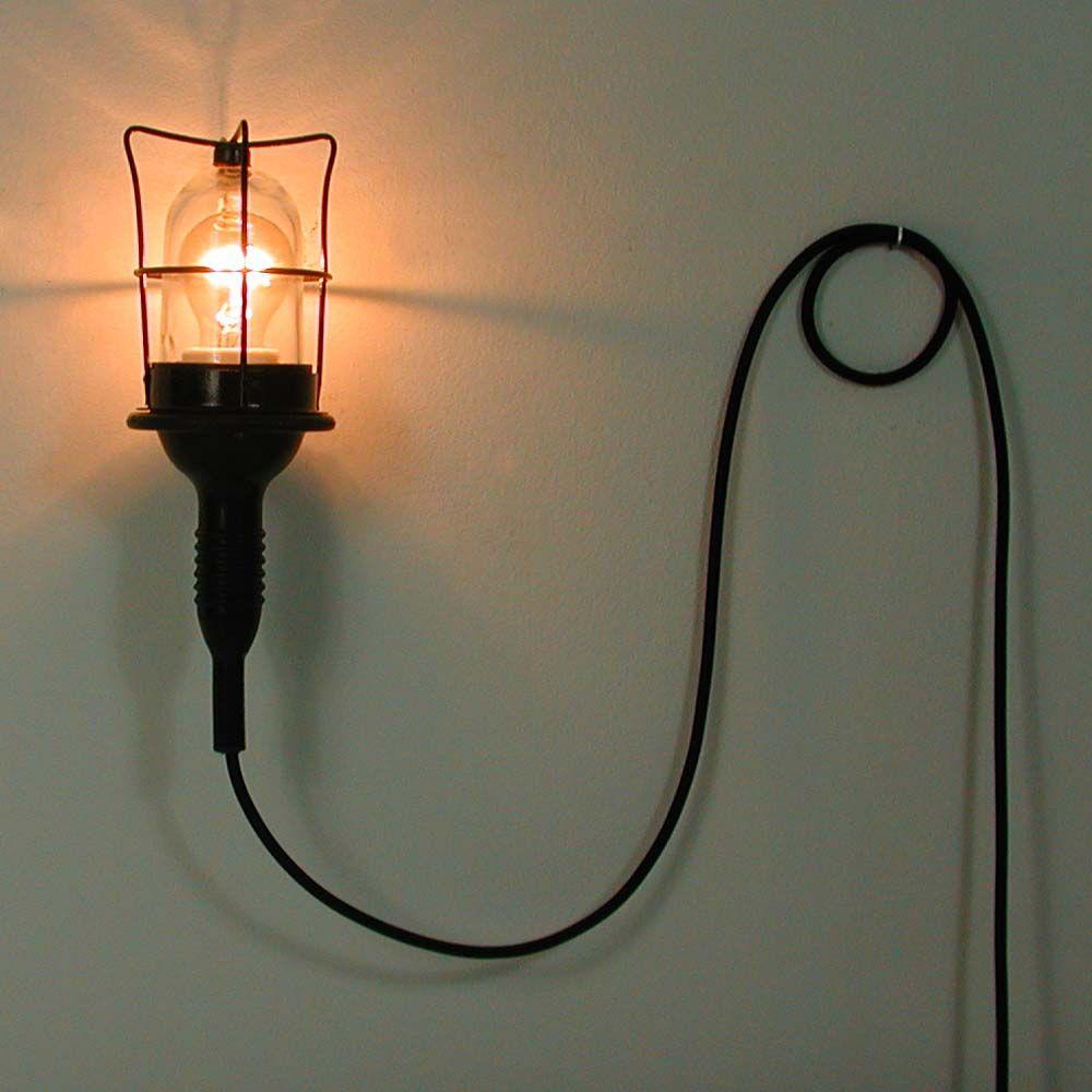 vintage industrie wandlampe deutschland 1960er bei pamono kaufen. Black Bedroom Furniture Sets. Home Design Ideas