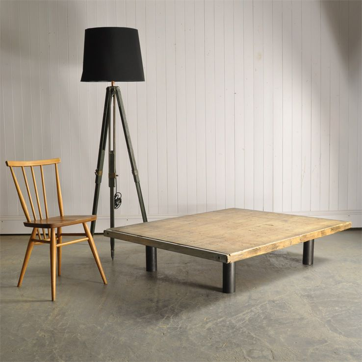 Industrial Brick Kiln Coffee Table For Sale At Pamono