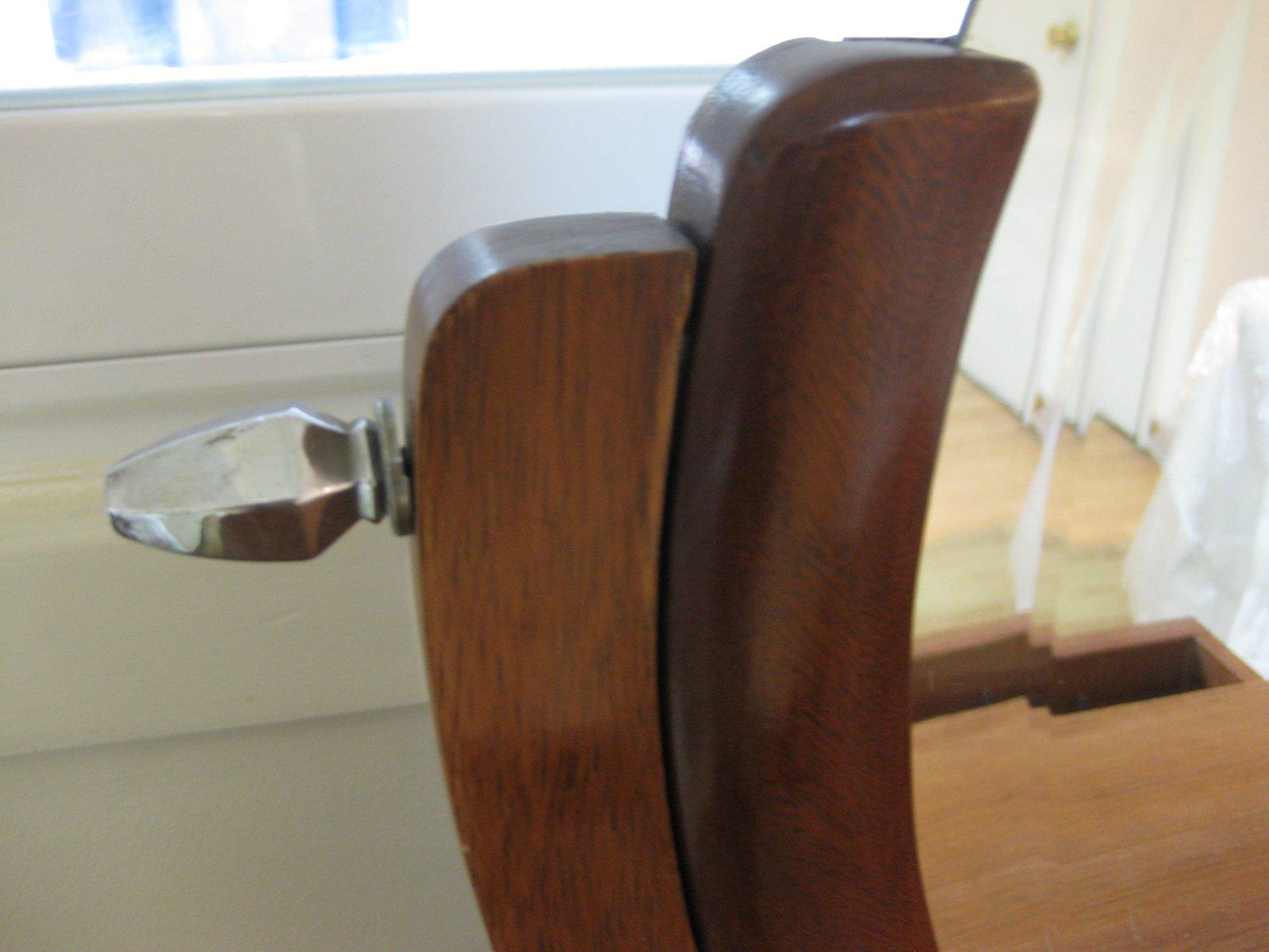 coiffeuse art d co france 1930s en vente sur pamono. Black Bedroom Furniture Sets. Home Design Ideas