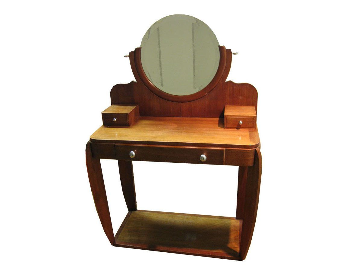 French art deco dressing table 1930s for sale at pamono for Miroir art deco 1930