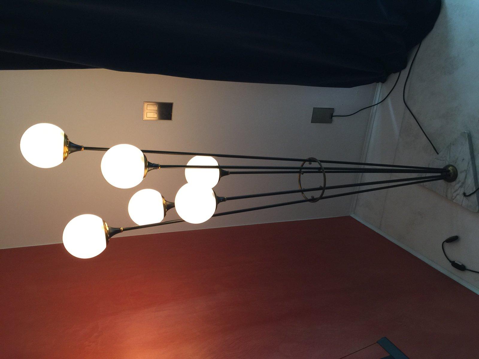 lampadaire arabello de stilnovo 1950s en vente sur pamono. Black Bedroom Furniture Sets. Home Design Ideas