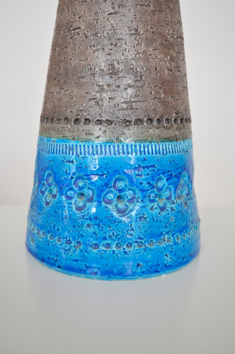 Keramik tischleuchte von aldo londi f r bitossi 1960er for Keramik tischleuchte