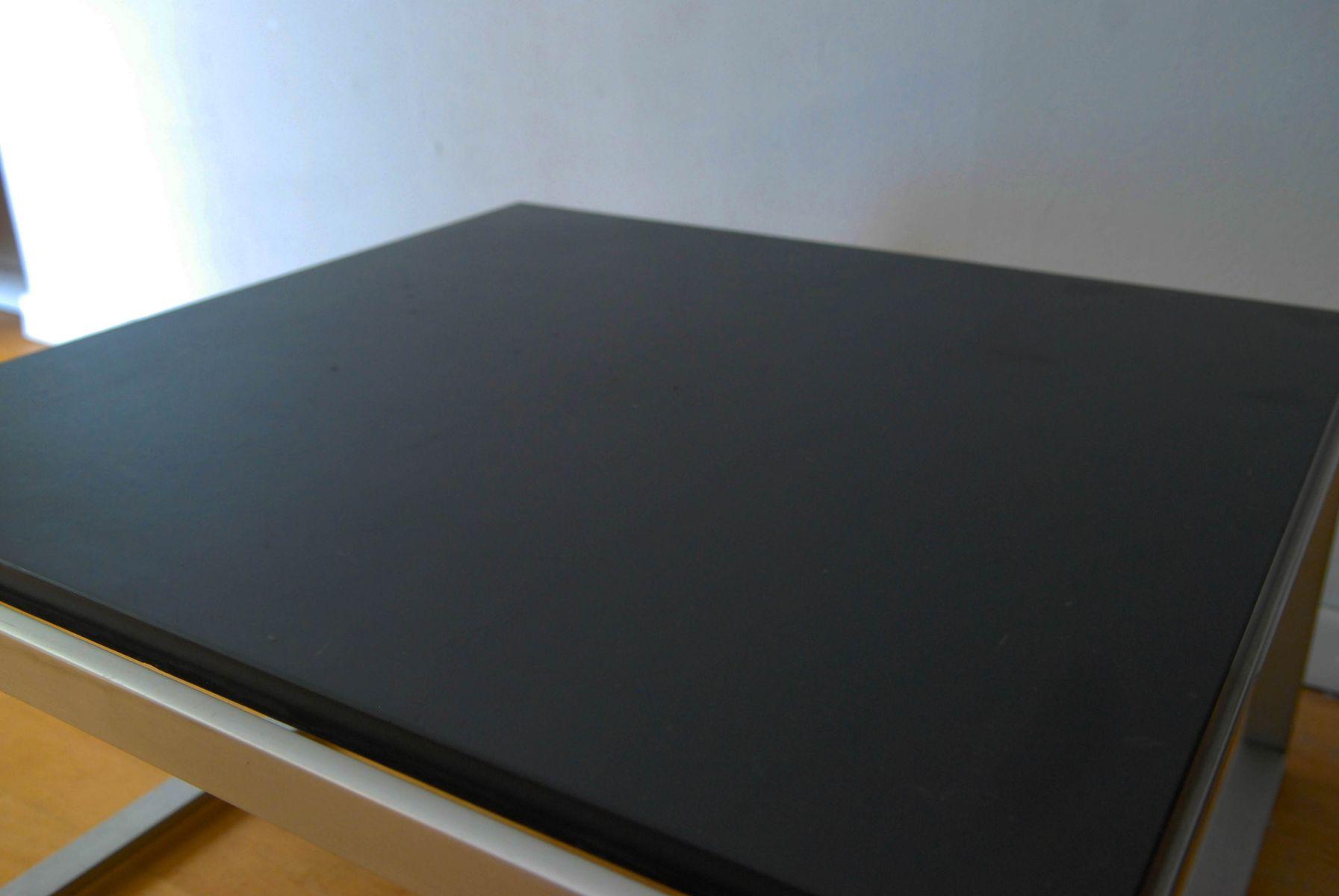 couchtisch aus geb rstetem aluminium 1970er bei pamono kaufen. Black Bedroom Furniture Sets. Home Design Ideas