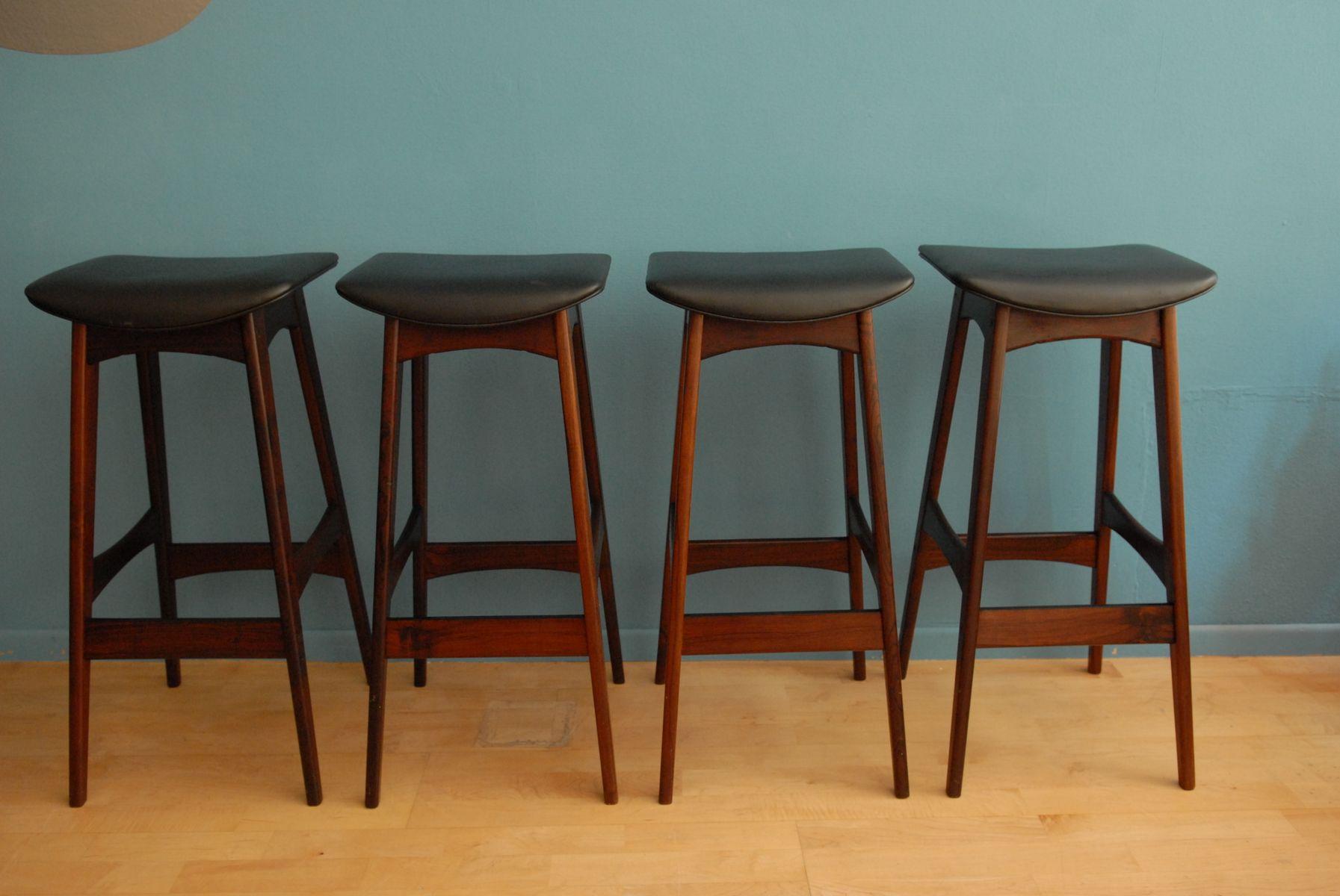 barhocker von johannes andersen f r br dere andersen. Black Bedroom Furniture Sets. Home Design Ideas