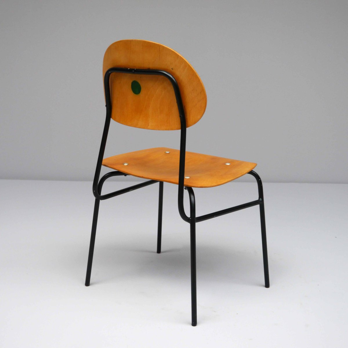 vintage school chair 1960s for sale at pamono. Black Bedroom Furniture Sets. Home Design Ideas