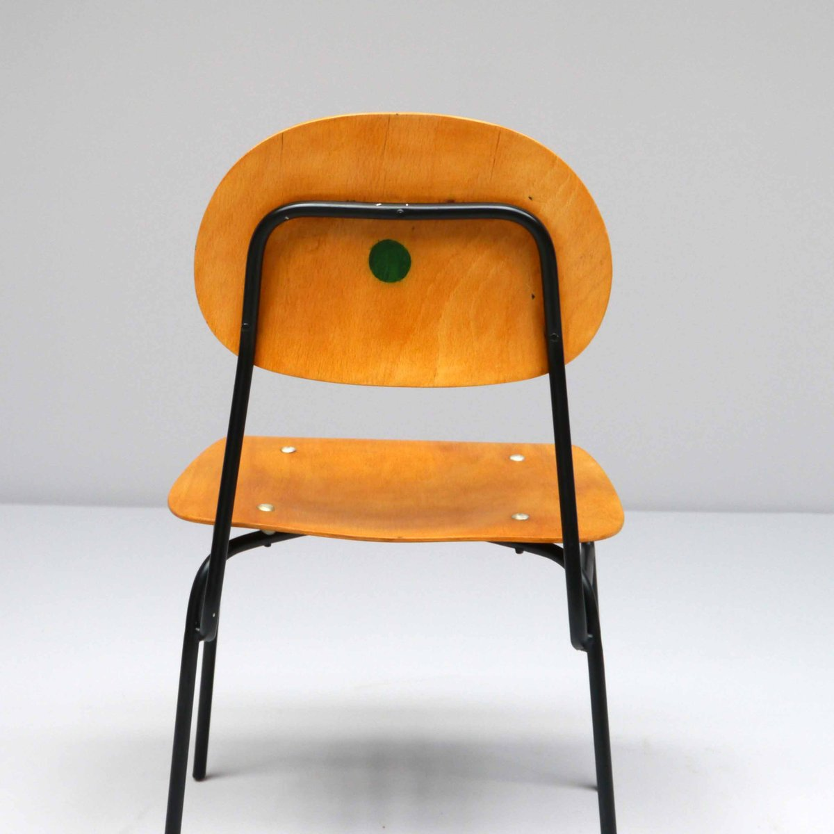 sedia da scuola vintage, anni '60 in vendita su pamono - Sedie Vintage Anni 60