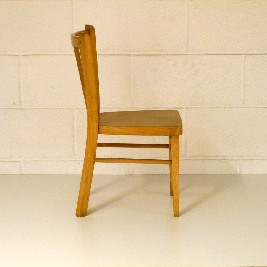 kinderschreibtisch mit stuhl von baumann 1960er bei. Black Bedroom Furniture Sets. Home Design Ideas