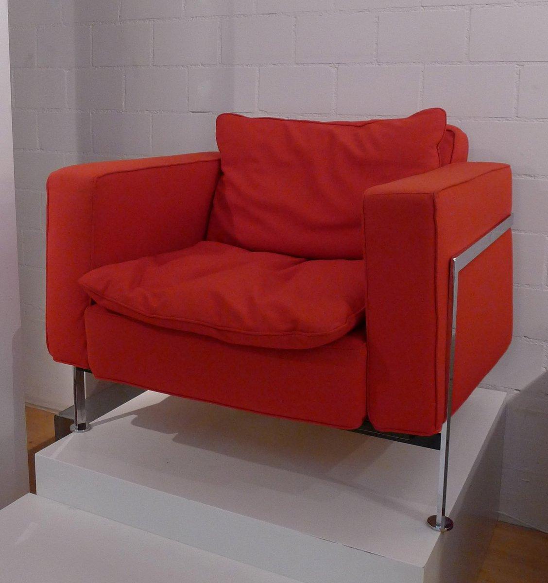 3 sitzer sofa mit sessel von trix robert haussmann 1960er bei pamono kaufen. Black Bedroom Furniture Sets. Home Design Ideas
