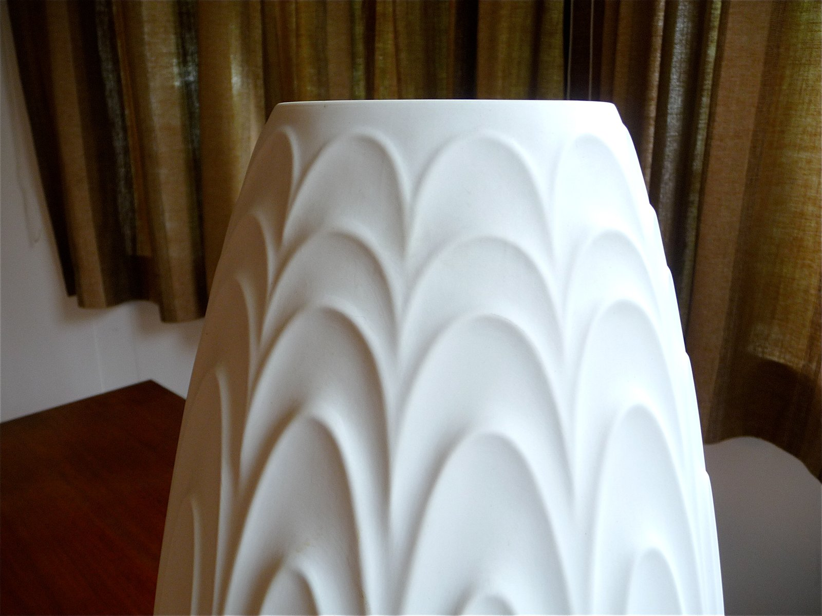 Large German Porcelain Floor Vase By H Amp C Heinrich 1960s