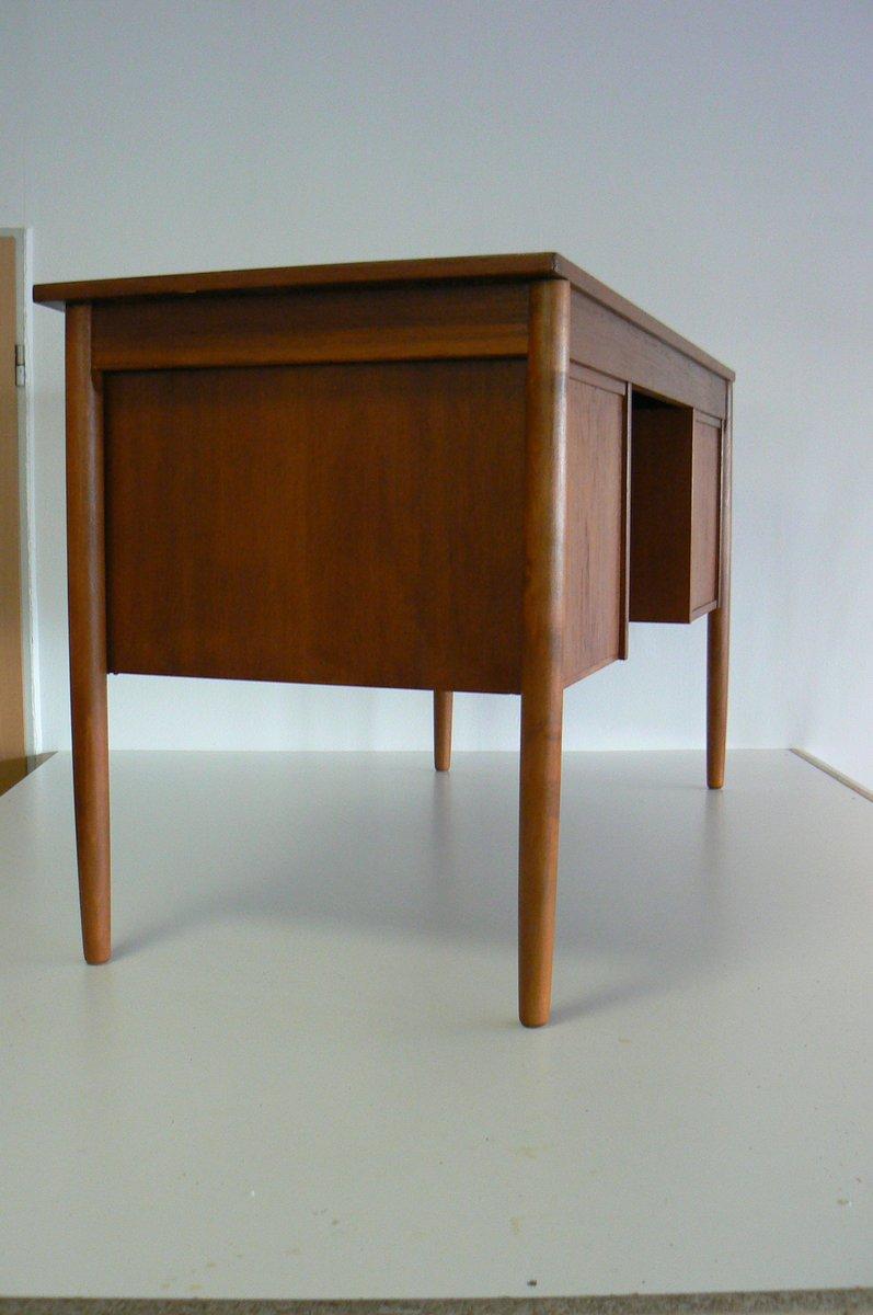 bureau en teck danemark 1959 en vente sur pamono. Black Bedroom Furniture Sets. Home Design Ideas