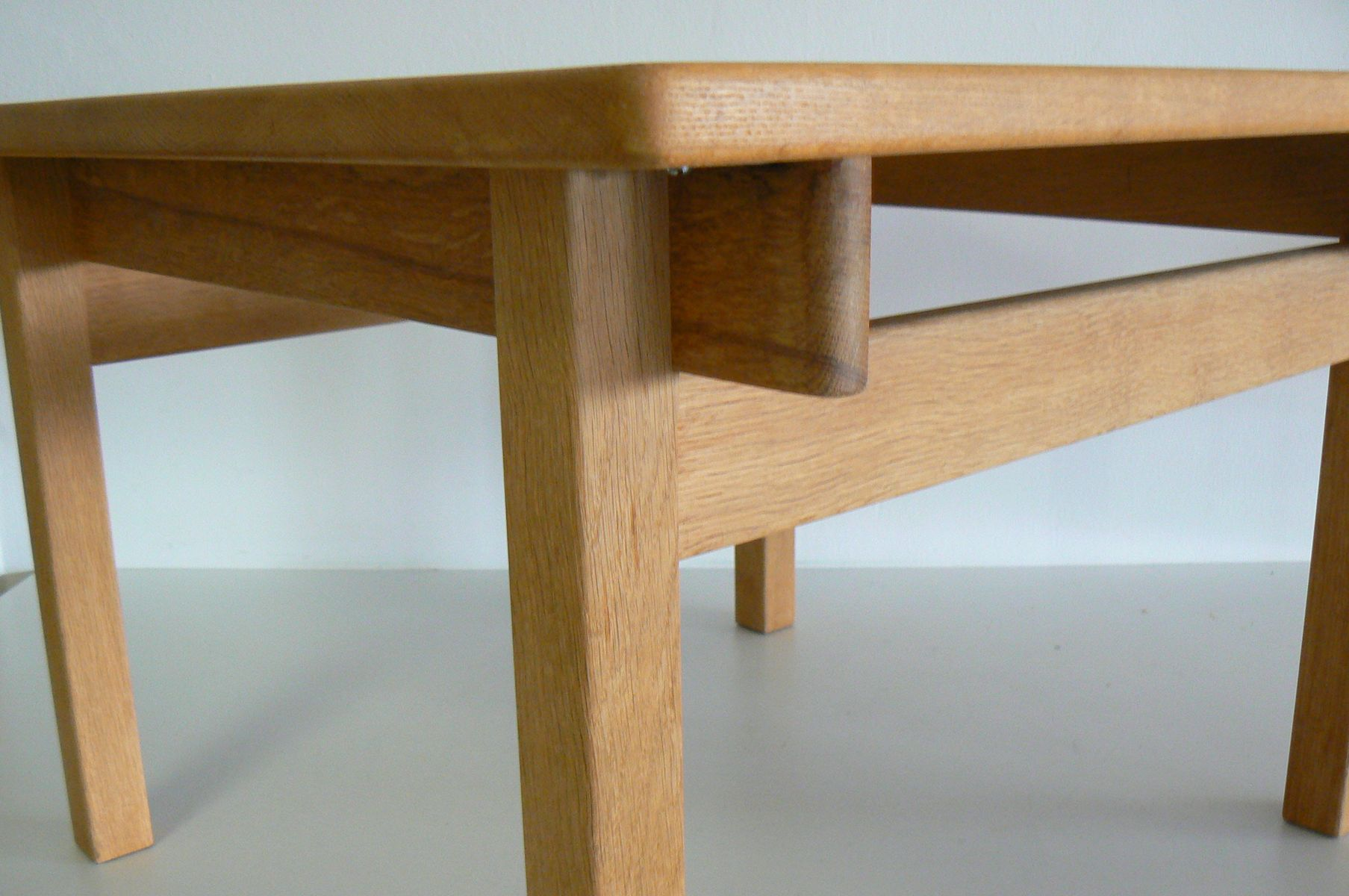 Oak square dining table by kurt ostervig for k p m bler for 1 oak nyc table prices