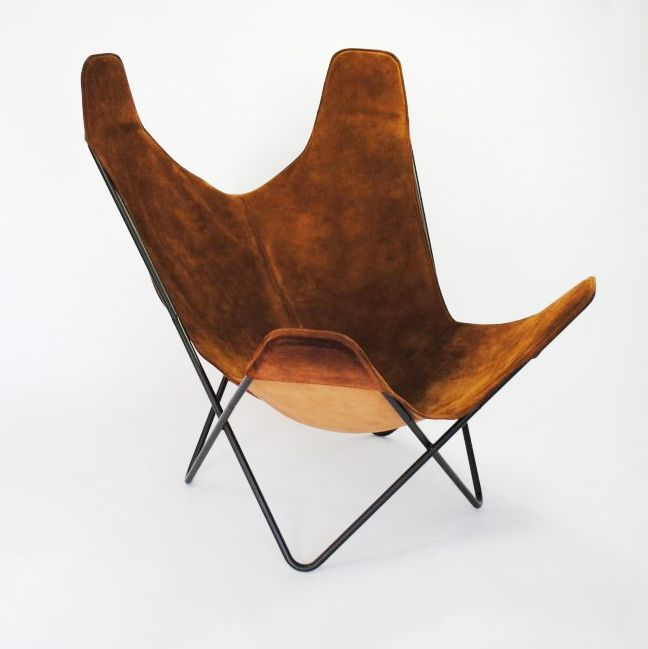 butterfly chair by jorge ferrari hardoy for knoll 1960s for sale at pamono. Black Bedroom Furniture Sets. Home Design Ideas
