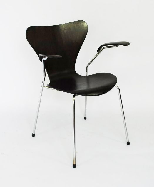 series 7 stuhl von arne jacobsen f r fritz hansen 1978 bei pamono kaufen. Black Bedroom Furniture Sets. Home Design Ideas