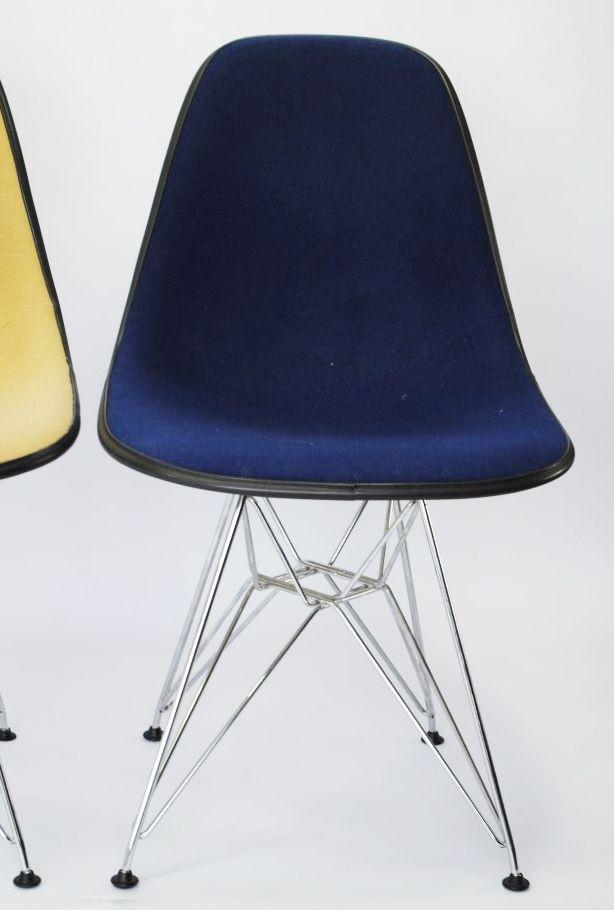 dsw chair von charles ray eames f r herman miller 1950er 4er set bei pamono kaufen. Black Bedroom Furniture Sets. Home Design Ideas