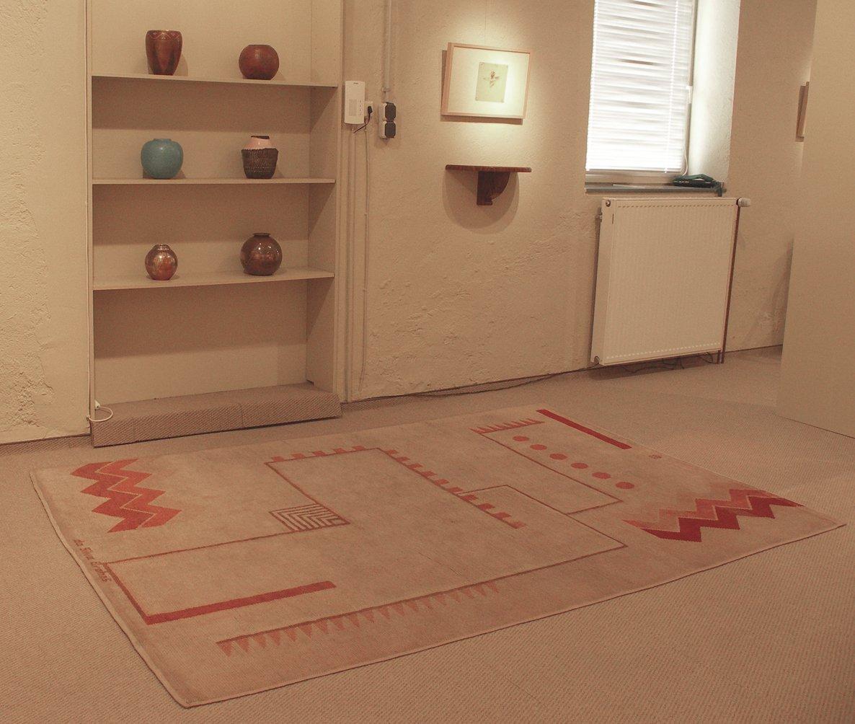Hangeknüpfter Teppich von Ivan da Silva Bruhns für
