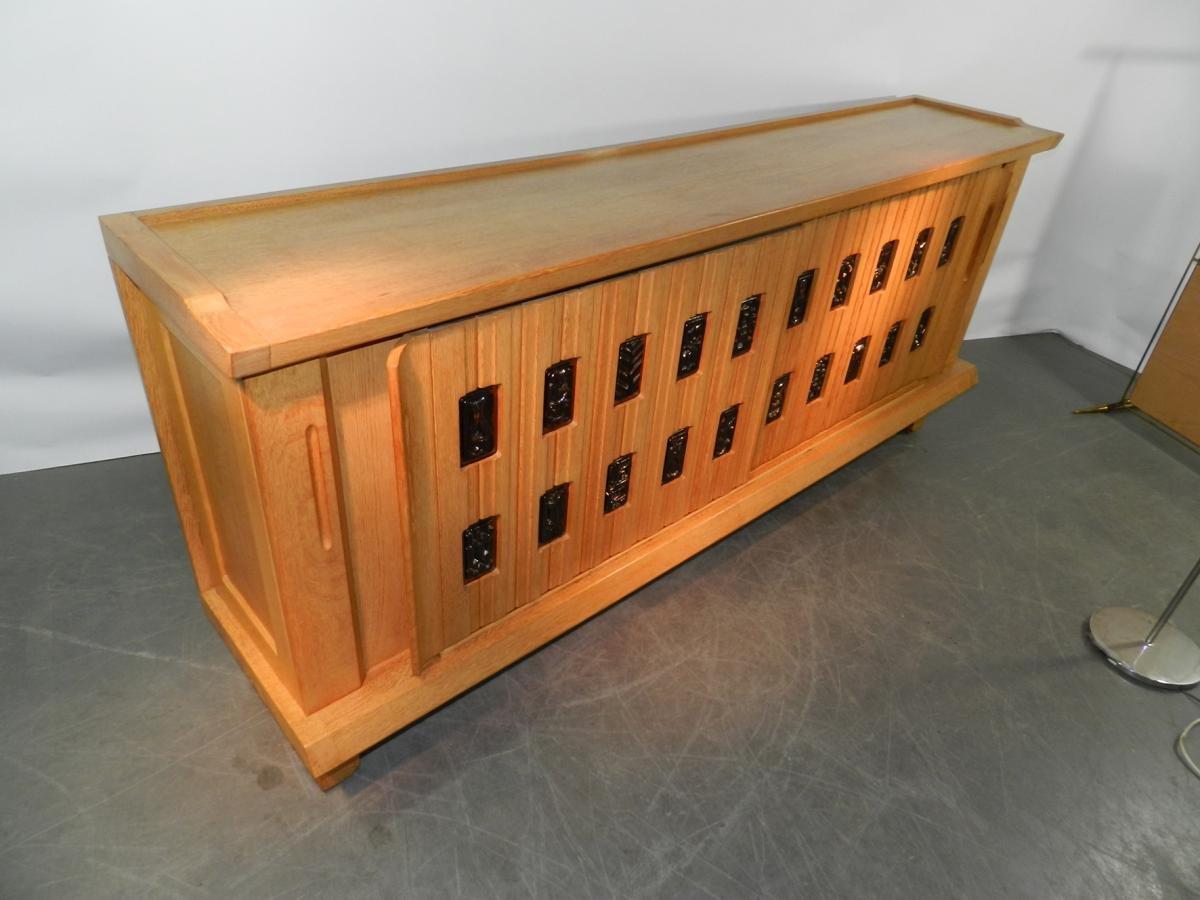 sideboard by guillerme et chambron for votre maison 1950s en vente sur pamono. Black Bedroom Furniture Sets. Home Design Ideas