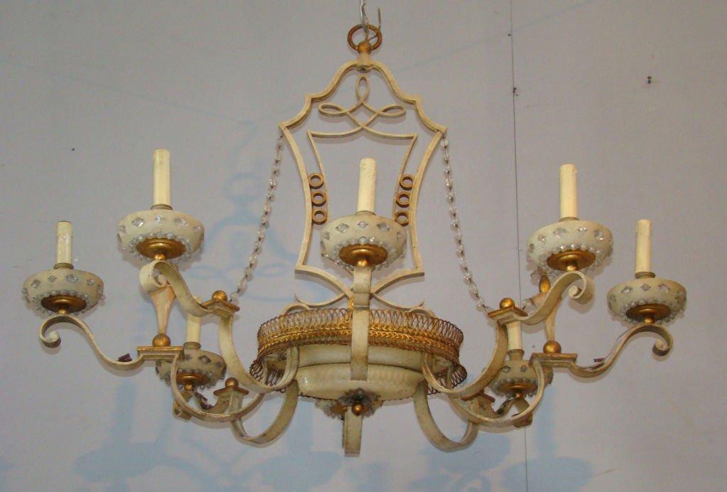 chandelier from maison bagues 1950s en vente sur pamono. Black Bedroom Furniture Sets. Home Design Ideas