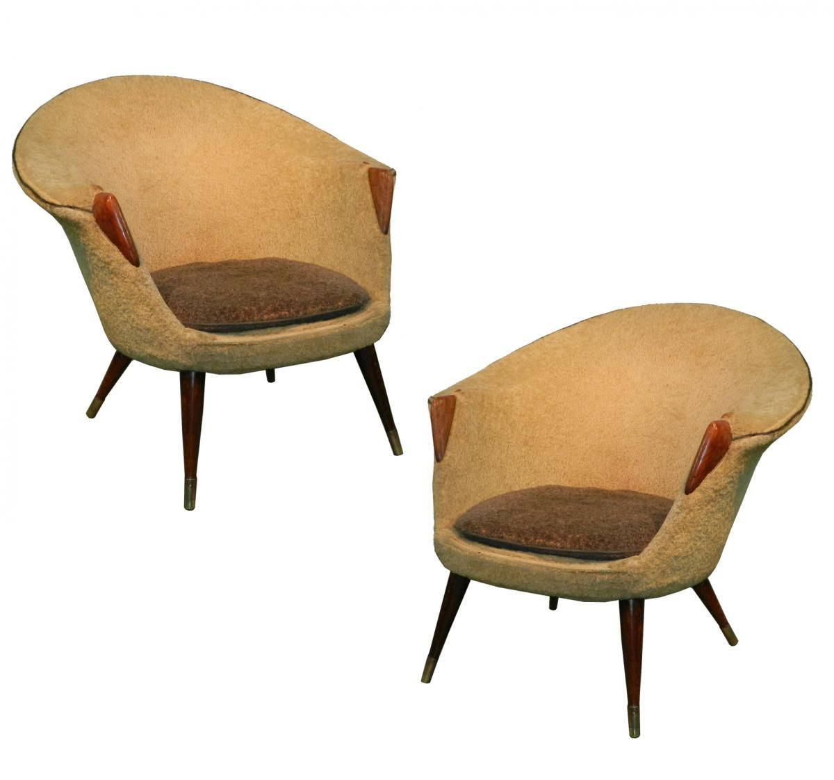 Scandinavian armchairs 1950s set of 2 for sale at pamono for 2 armchairs for sale