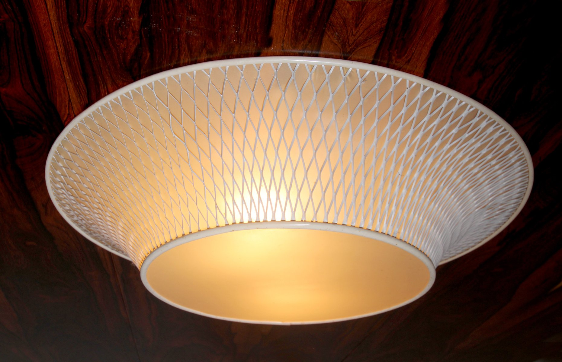 Large mid century ceiling light 1950s for sale at pamono for Mid century ceiling lamp