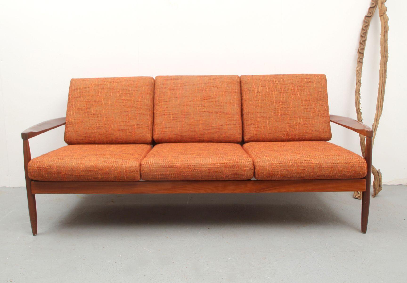 Mid Century Teak Sofa 1960s For Sale At Pamono