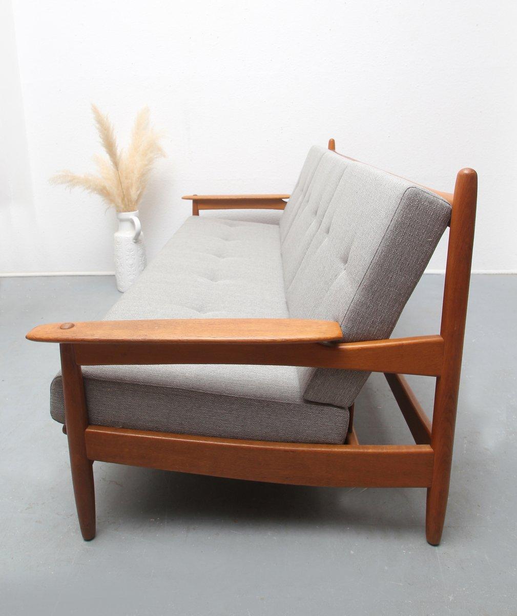 skandinavisches eichen sofa 1960er bei pamono kaufen. Black Bedroom Furniture Sets. Home Design Ideas