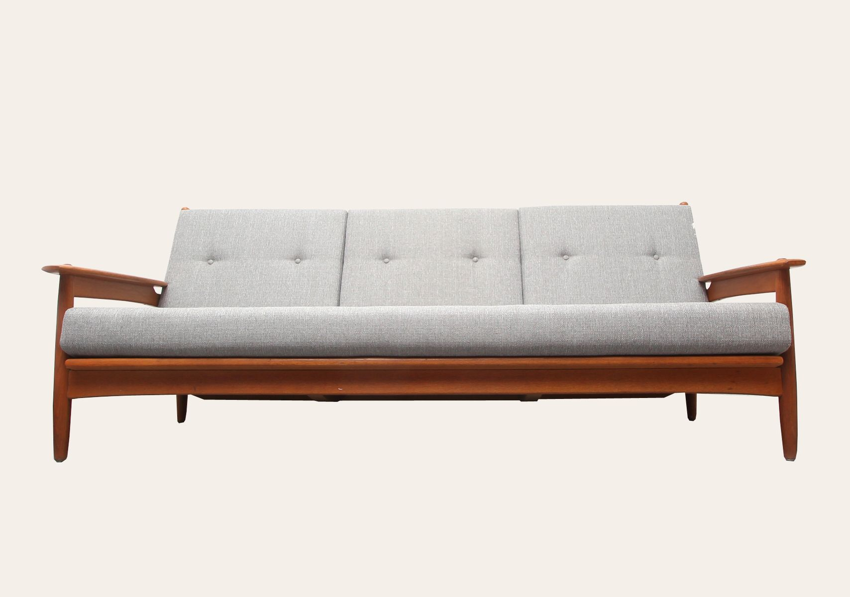 Scandinavian Oak Sofa 1960s For Sale At Pamono