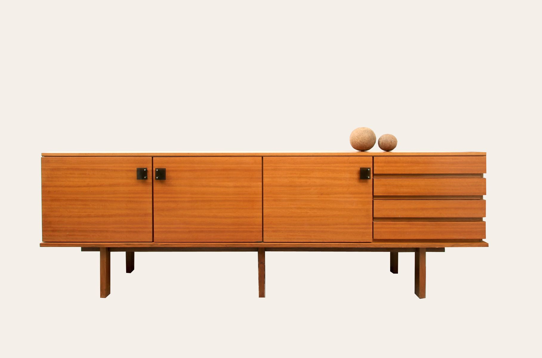 mid century cubic sideboard for sale at pamono. Black Bedroom Furniture Sets. Home Design Ideas