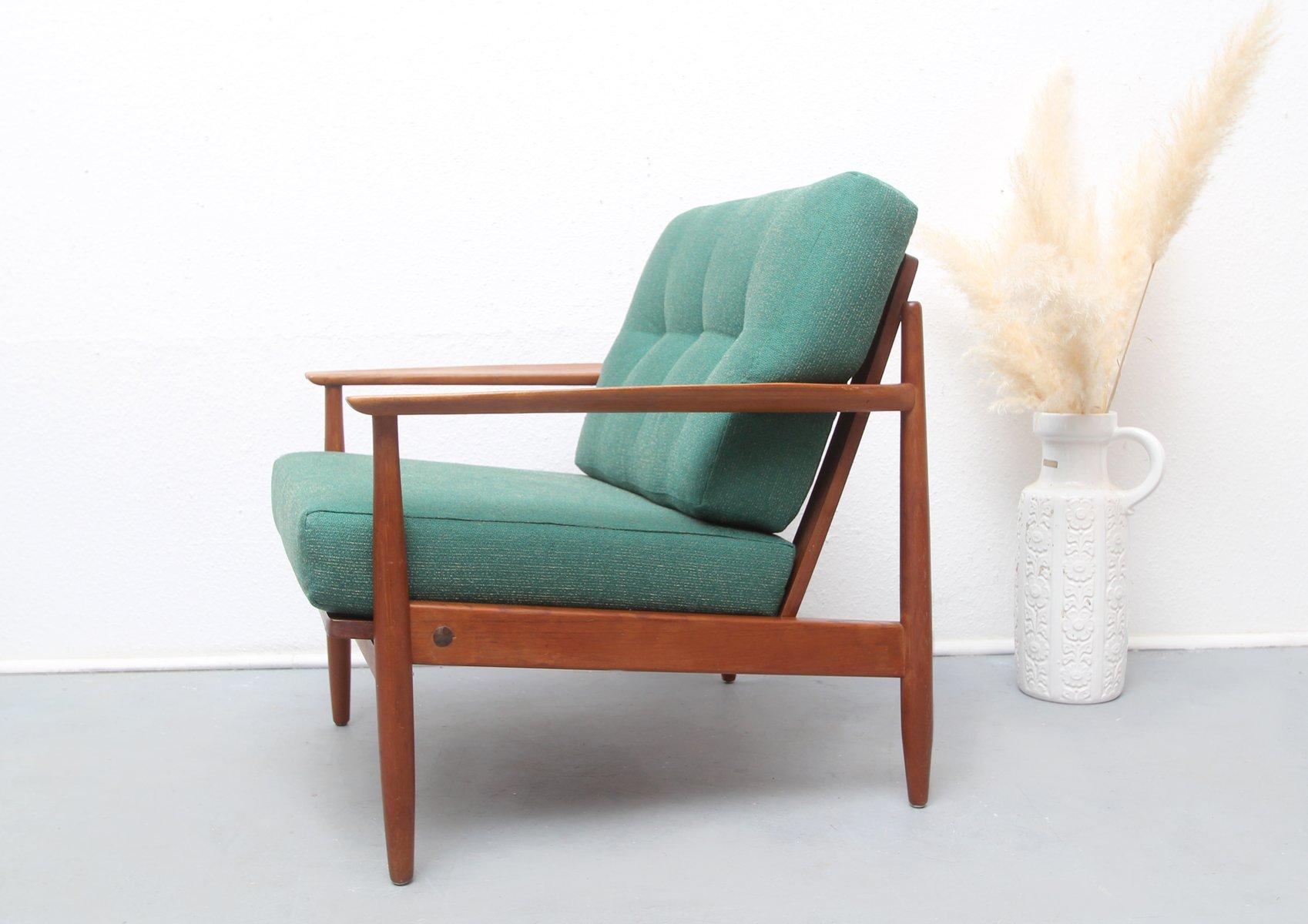 Mid century teak sessel aus deutschland 1960er bei pamono for Sessel scandi