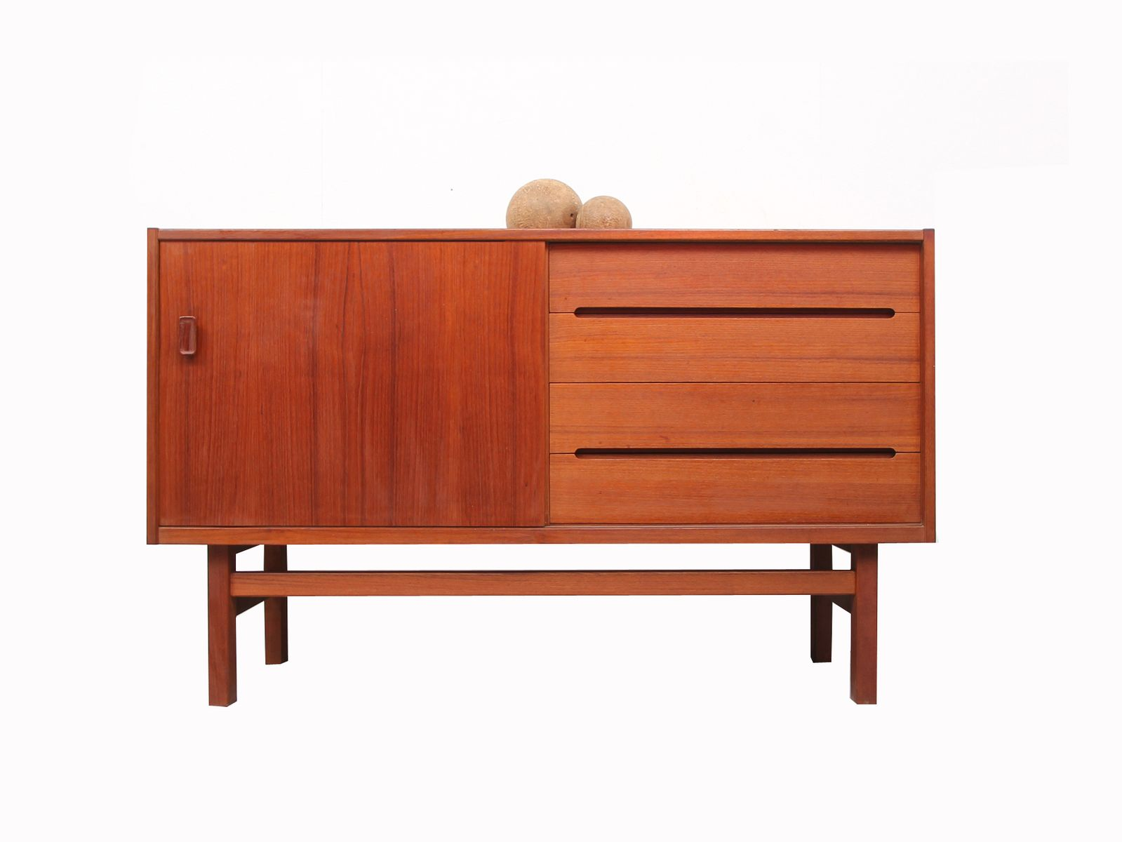 mid century teak sideboard from troeds 1960s for sale at. Black Bedroom Furniture Sets. Home Design Ideas