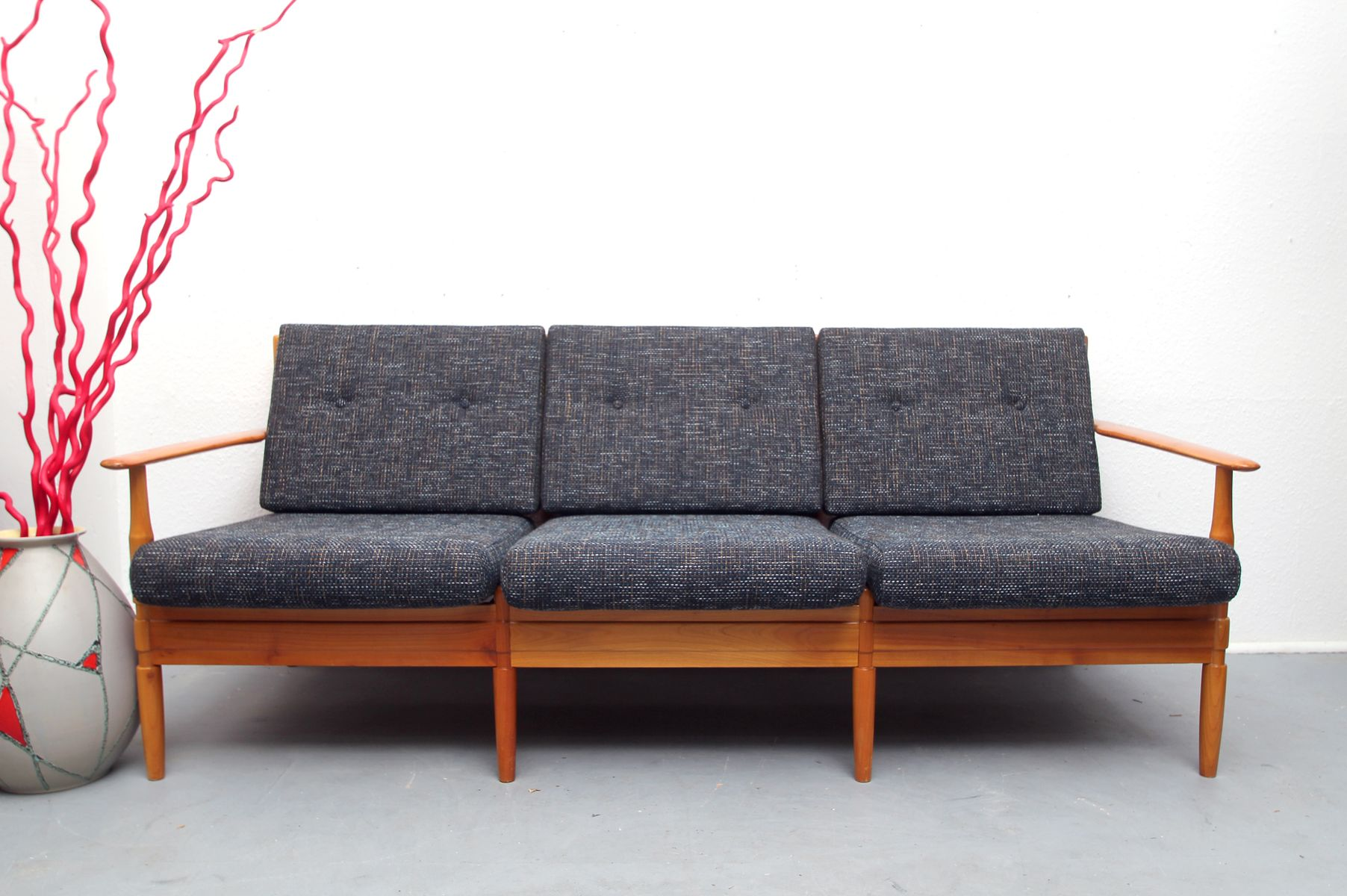 German Mid Century 3 Seater Sofa 1960s For Sale At Pamono