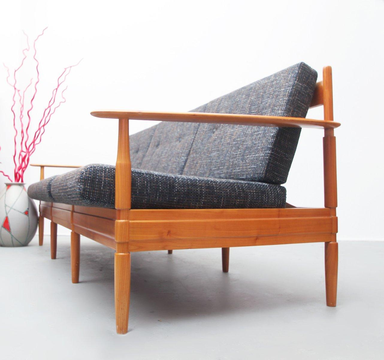 mid century 3 sitzer sofa aus deutschland 1960er bei pamono kaufen. Black Bedroom Furniture Sets. Home Design Ideas
