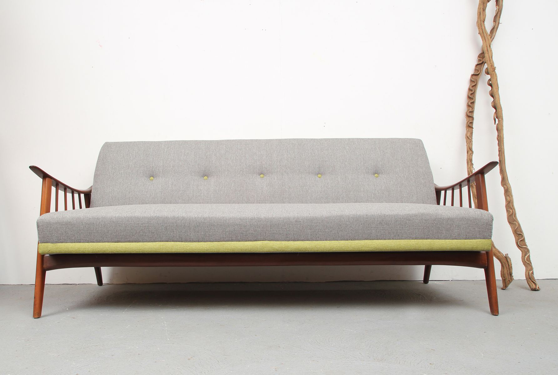 vintage scandinavian daybed sofa 1950s for sale at pamono. Black Bedroom Furniture Sets. Home Design Ideas