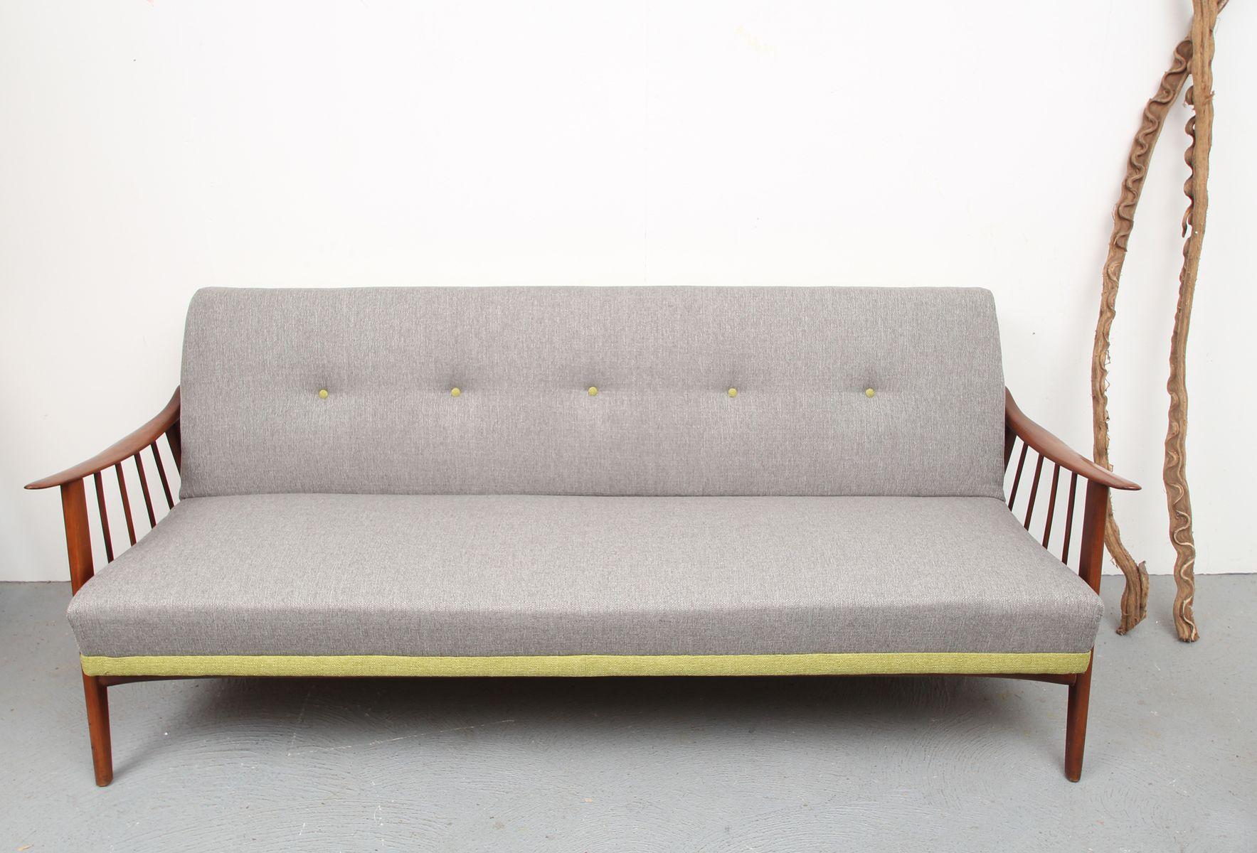 Vintage scandinavian daybed sofa 1950s for Divan 1950