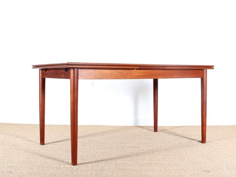 Extendable Danish Dining Table For Sale At Pamono
