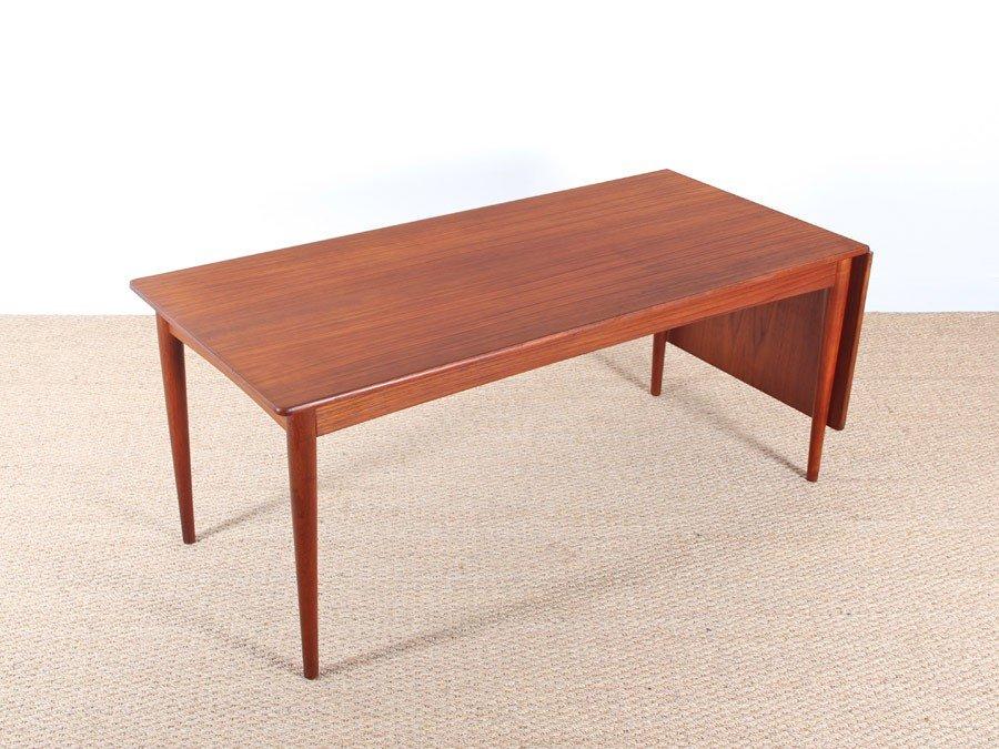Teak Extendable Danish Coffee Table