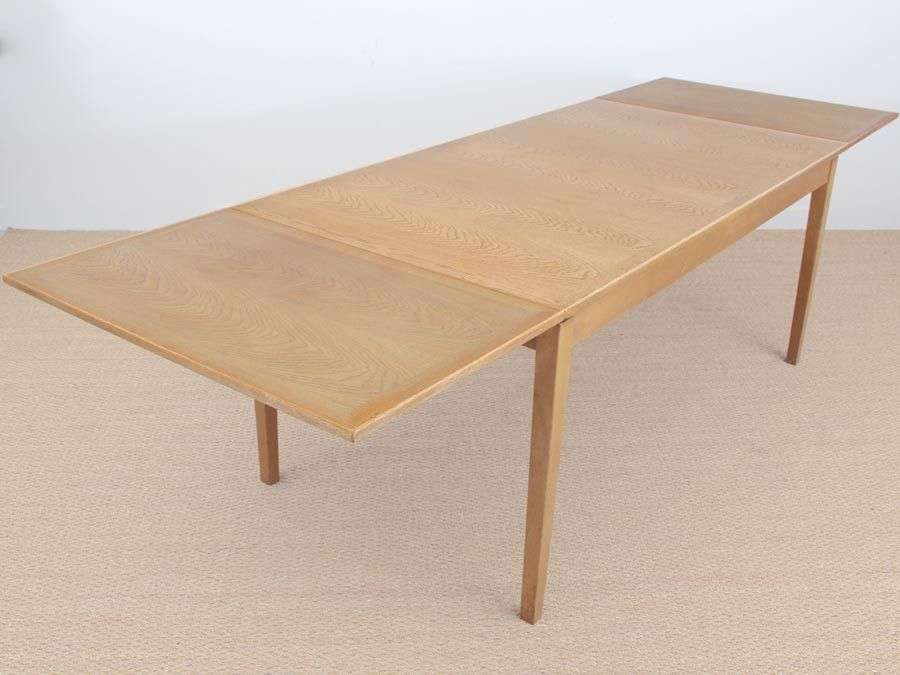 Danish mid century extendable dining table by kaj winding - Table rallonge 20 personnes ...
