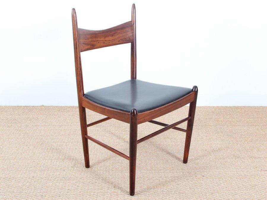 skandinavische st hle aus rio palisander von vestervig. Black Bedroom Furniture Sets. Home Design Ideas