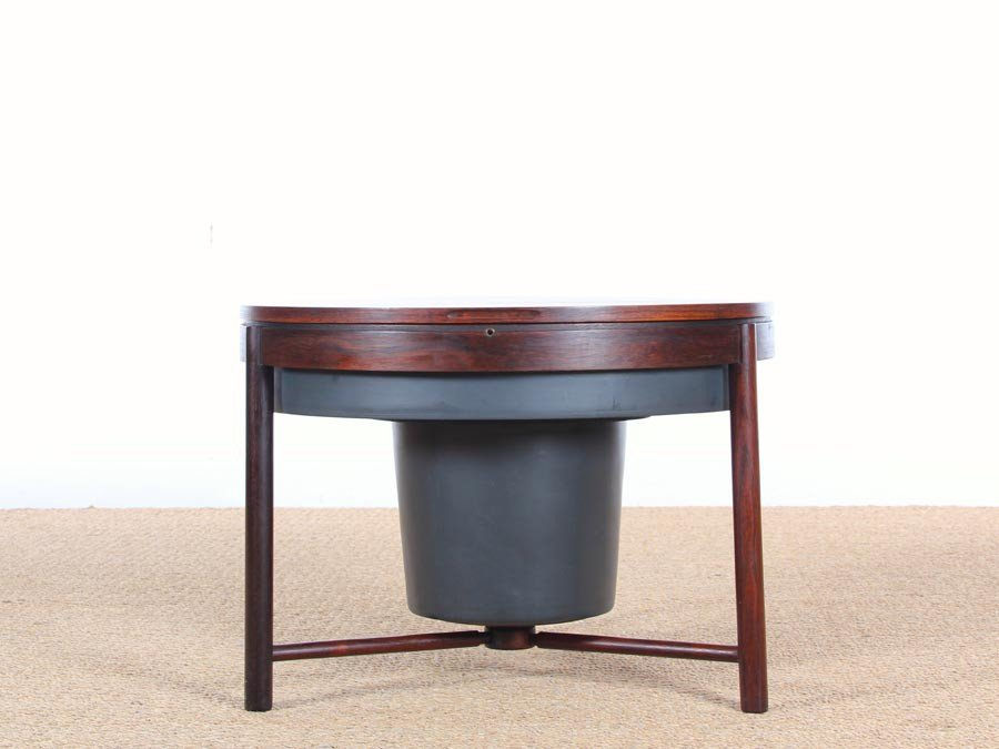 coffee table and bar by rolf rastad adolf relling for