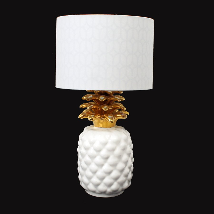 Vintage Ceramic Pineapple Lamp For Sale At Pamono