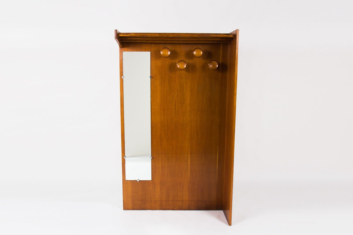 franz sische vintage garderobe 1950 bei pamono kaufen. Black Bedroom Furniture Sets. Home Design Ideas