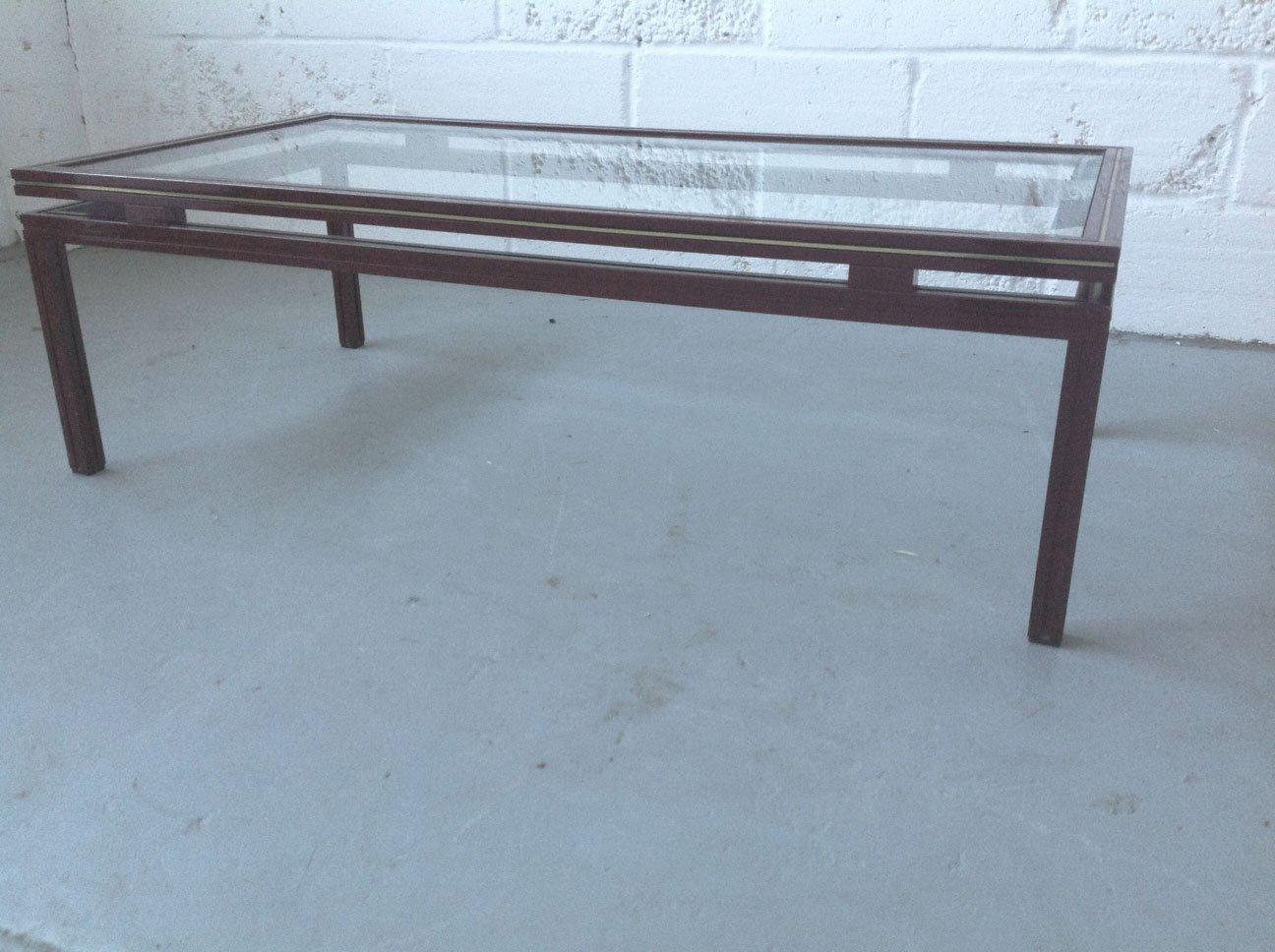 Tisch aus metall von pierre vandel 1970er bei pamono kaufen for Metall tisch