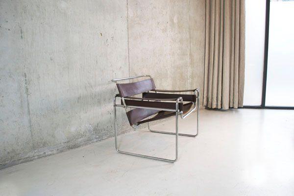 wassily chair von marcel breuer f r knoll studio bei pamono kaufen. Black Bedroom Furniture Sets. Home Design Ideas