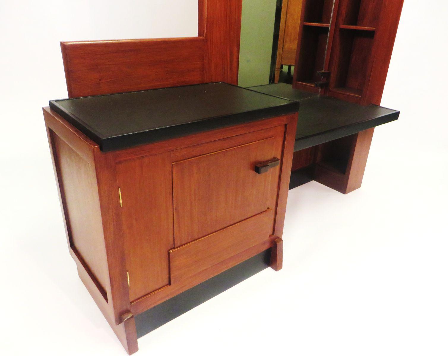 Vintage dressing table by j brunott for j brunott 1930s for Retro dressing table