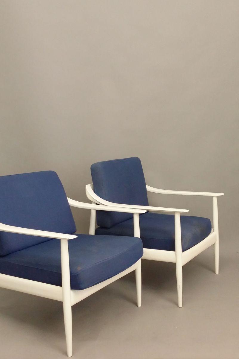 fauteuil par walter knoll pour knoll antimott 1960s en. Black Bedroom Furniture Sets. Home Design Ideas