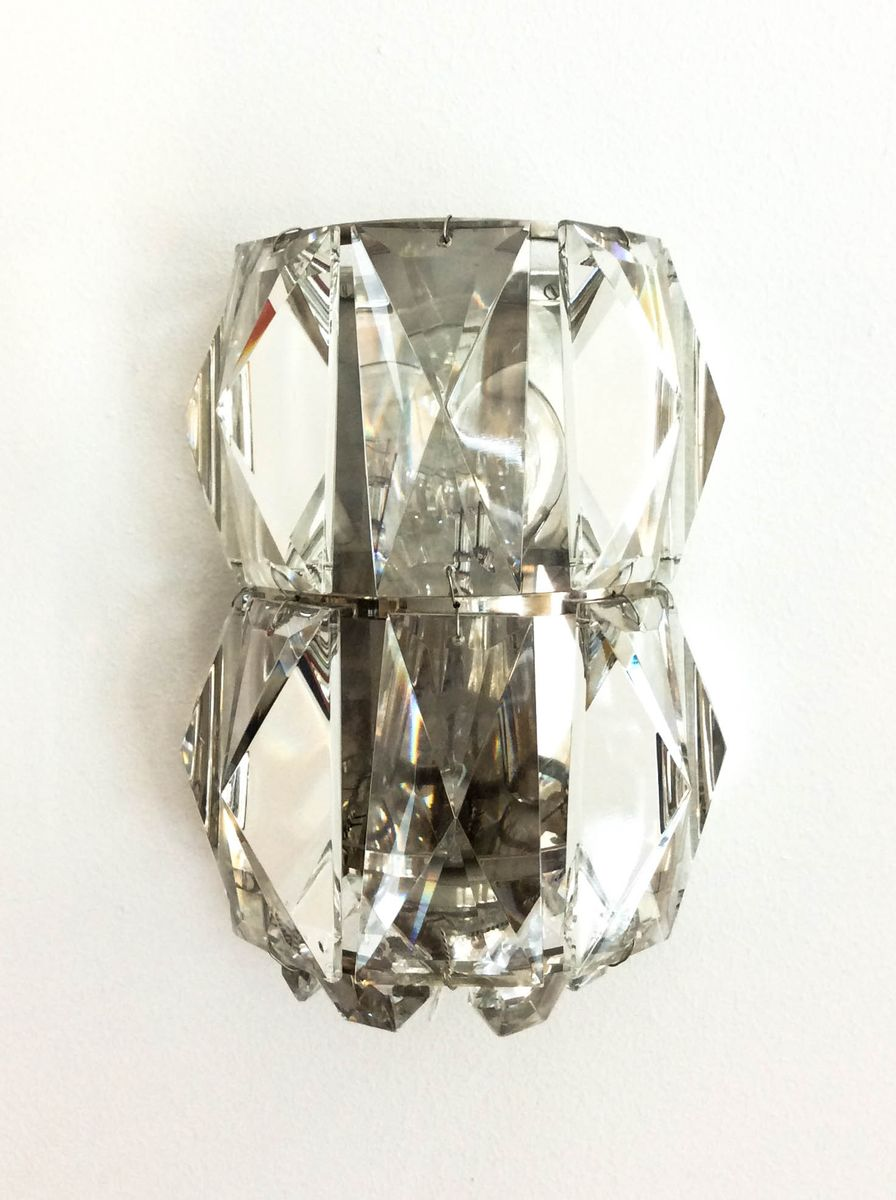 Czech Crystal Wall Lights : Crystal Wall Light from Rupert Nikoll, 1960s for sale at Pamono