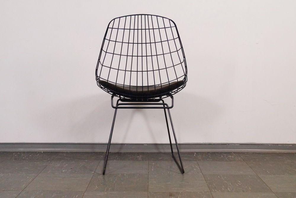 chaise, modèle 240, en fil de fer par cees braakman pour pastoe ... - Chaise En Fil De Fer