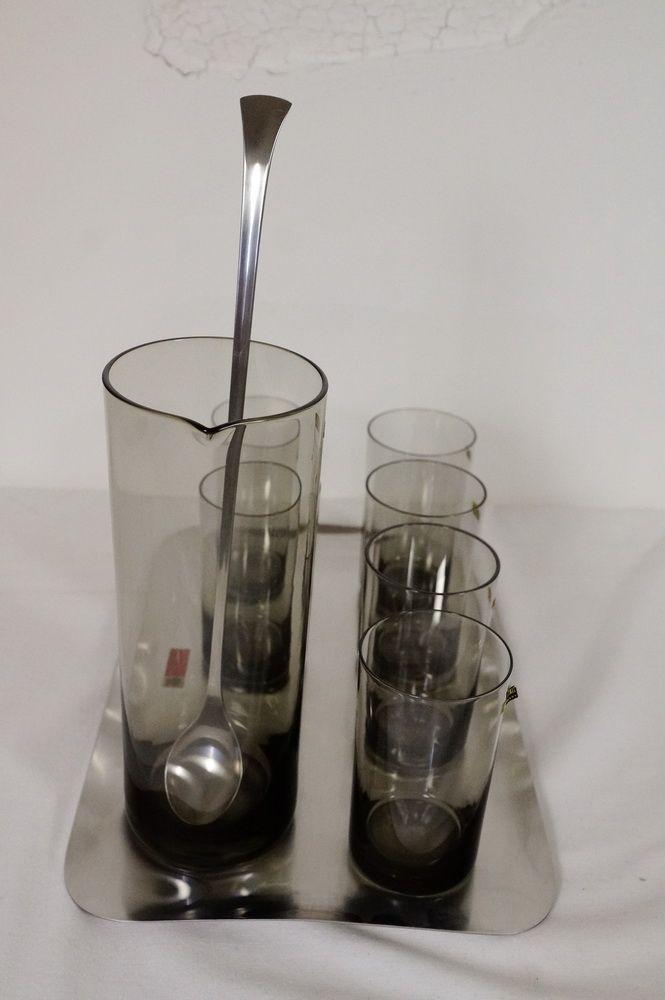 cocktail set von wilhelm wagenfeld f r wmf 1960er bei. Black Bedroom Furniture Sets. Home Design Ideas
