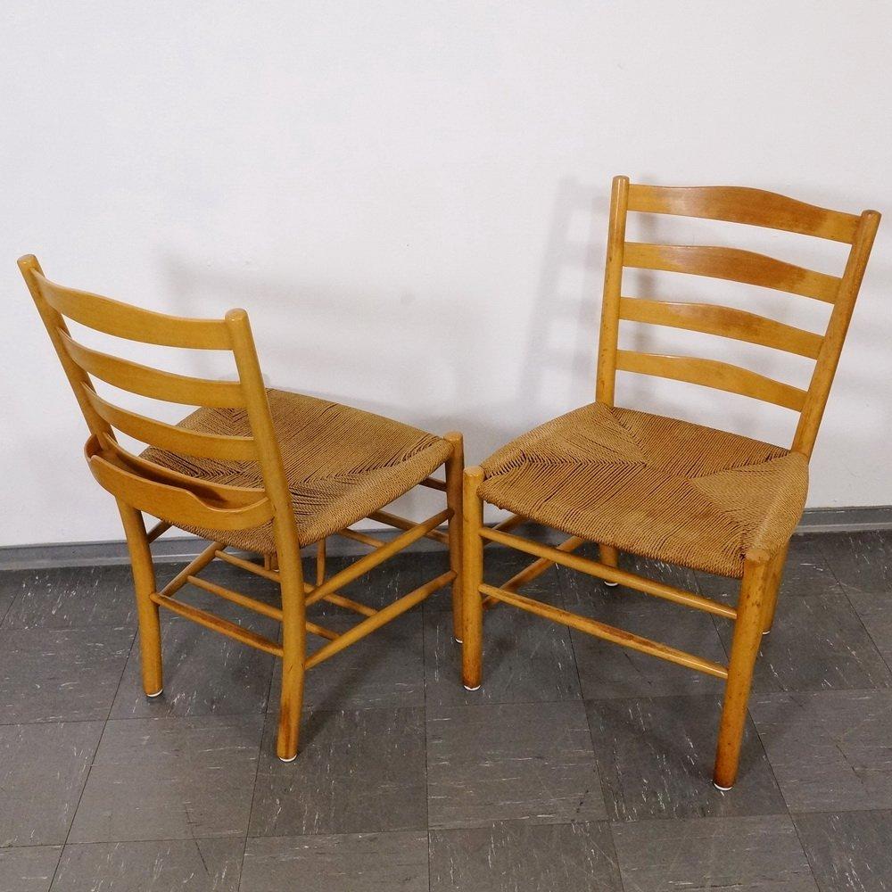 chaises d 39 eglise par kaare klint pour fritz hansen 1960s set de 10 en vente sur pamono. Black Bedroom Furniture Sets. Home Design Ideas