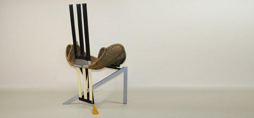 Chaise documenta vintage par paolo deganello pour vitra en for Vitra soldes