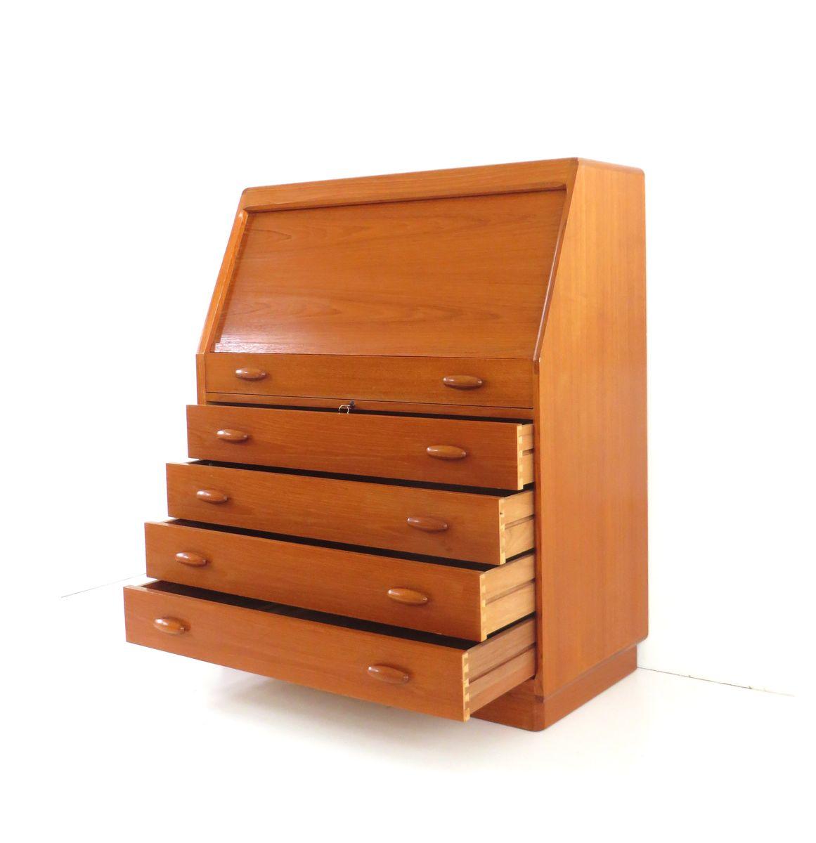 d nischer vintage schreibtisch von dyrlund bei pamono kaufen. Black Bedroom Furniture Sets. Home Design Ideas